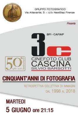 """5 Giugno Serata 3C al fotoclub """"Il Cupolone"""" Firenze"""