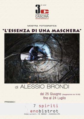 """""""L'essenza di una maschera"""" di Alessio Brondi in mostra …"""