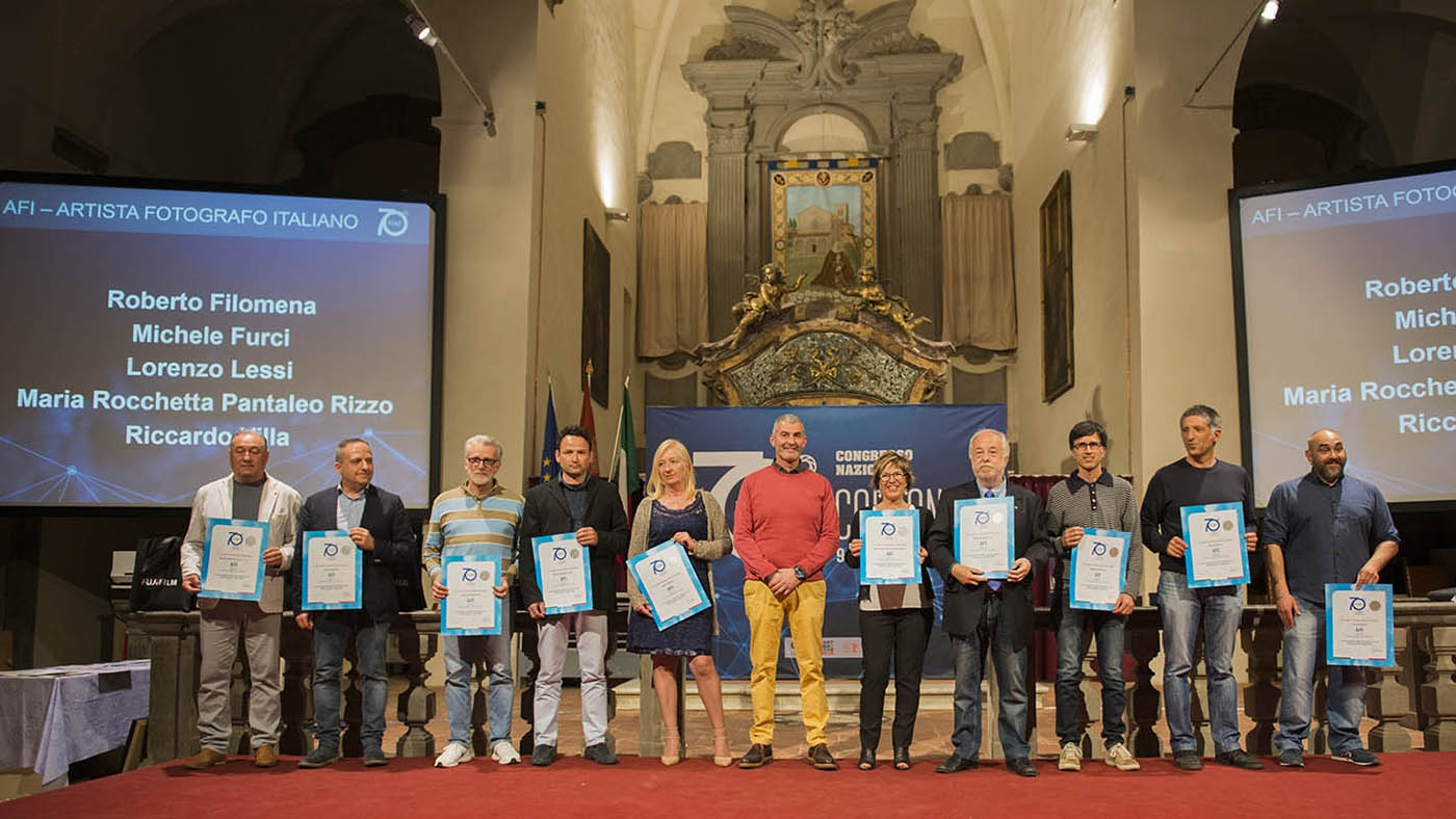 70° Congresso FIAF - Roberto Filomena riceve l'AFI