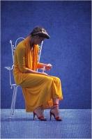 """Bellini Moreno """" Giallo e blu """" (1980)"""