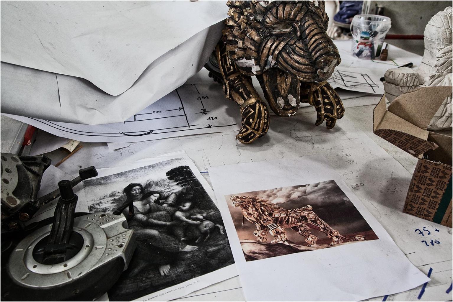 """Brondi Alessio """"L'essenza di una maschera 01"""" (2016)"""