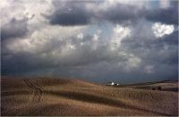 """Gambicorti Mauro """" Paesaggio toscano """" (1975)"""
