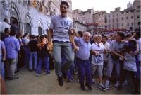 """Garuti Fabio """" Emozioni al palio n. 1 """" (2002)"""
