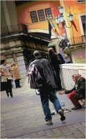 """Marchetti Massimo """"Sguardi sulla città 03 (Gli invisibili)"""" (2005)"""