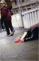 """Marchetti Massimo """" Sguardi sulla città 24 (Gli invisibili) """" (2005)"""