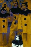 """Menichetti Oreste """" Pierrots 1 """" (1979)"""