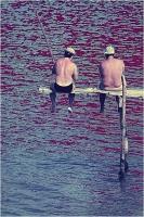 """Menichetti Oreste """" Pescatori """" (1971)"""