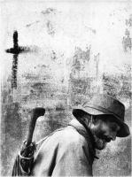 """Monticelli Luciano """" La croce """" (1971)"""