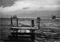 """Sbrana Piero """" Il pontile """" (1975)"""