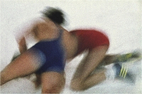 """Sbrana Piero """" Rosso e blu """" (1980)"""