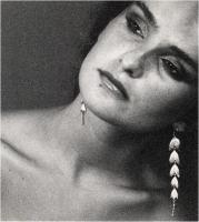 """Sbrana Piero """" Donna con orecchini n° 2 """" (1984)"""