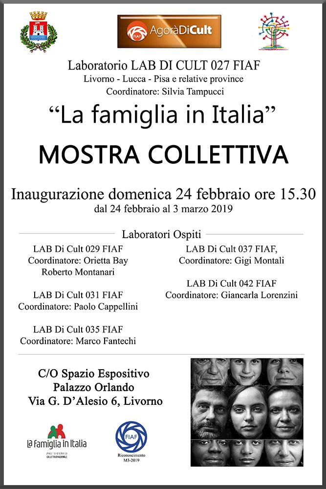 """AgoràDiCult """"La famiglia in Italia"""" Mostra Collettiva"""