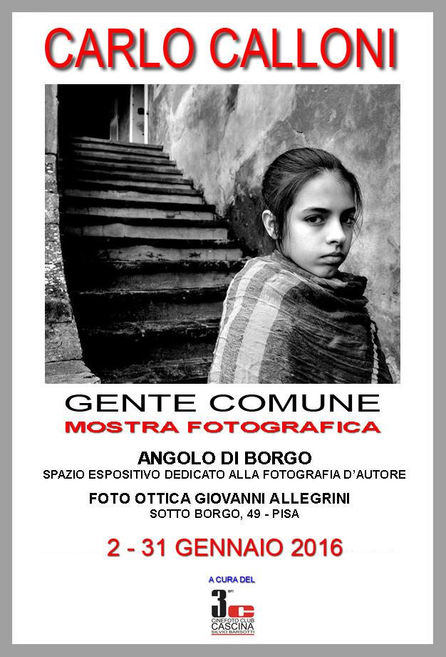 """""""Gente comune"""" di Calloni Carlo in mostra …"""