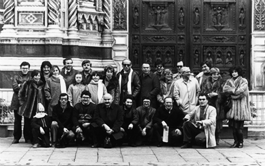 Il 3C al Cupolone 1984