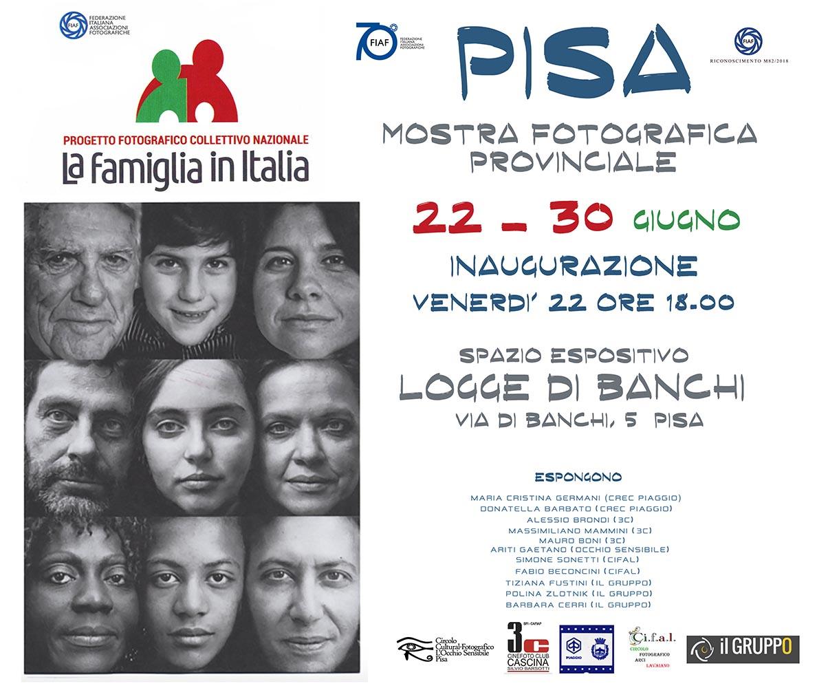 LA FAMIGLIA IN ITALIA – Mostra fotografica 22-30 Giugno