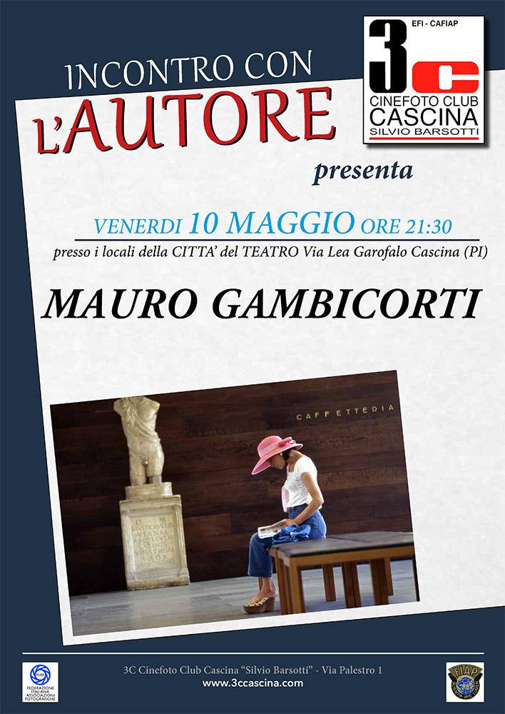 Incontro con l'Autore – MAURO GAMBICORTI