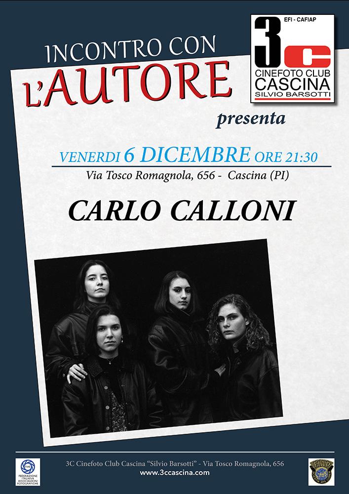 Incontro con l'Autore – CARLO CALLONI