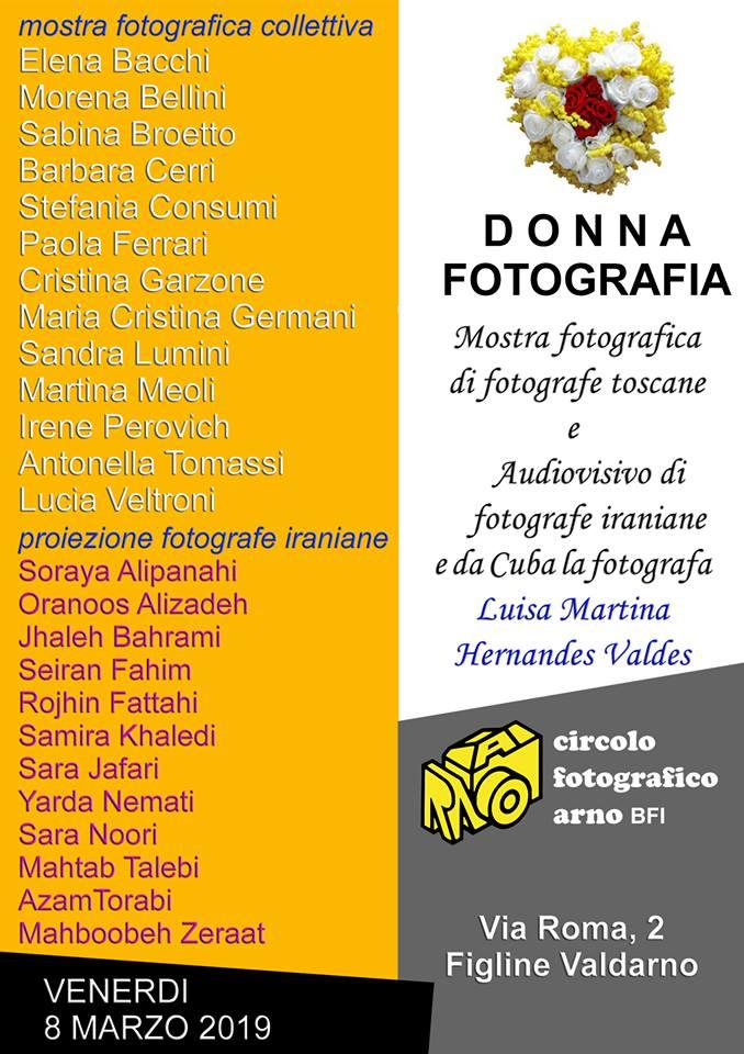 8 Marzo 2019 – Donna Fotografia, mostra fotografica