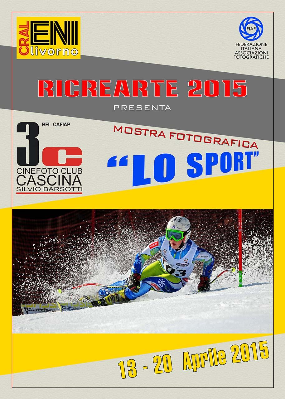 """RicreArte 2015 – """"Lo Sport"""" il 3C Cascina in mostra …"""