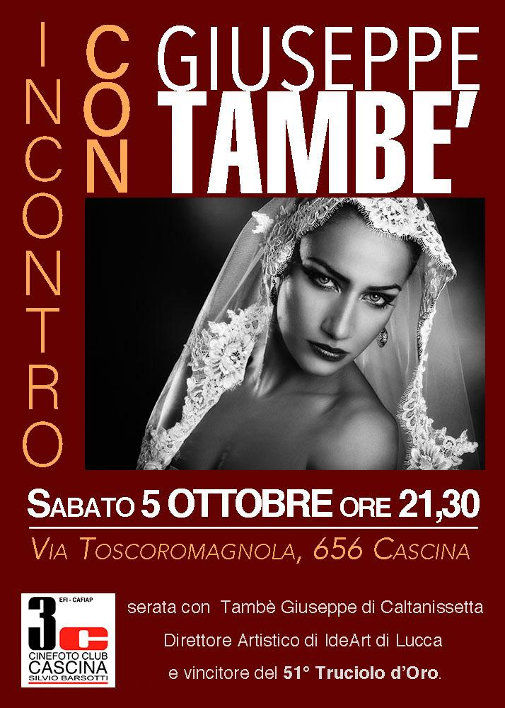 INCONTRO CON Giuseppe TAMBE'