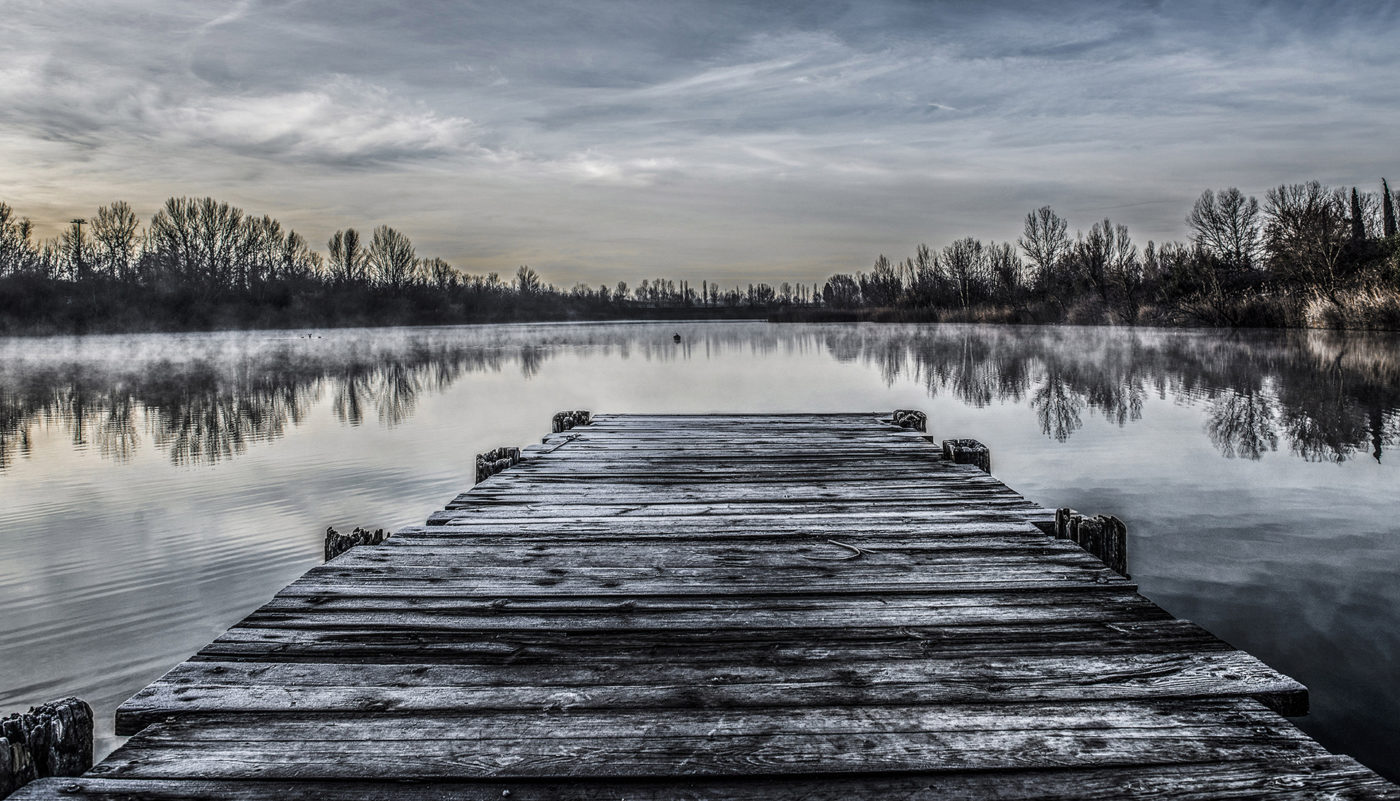 "Roberto Evangelisti legge ""Pontile lago B3"" di Valtere Cassuola"